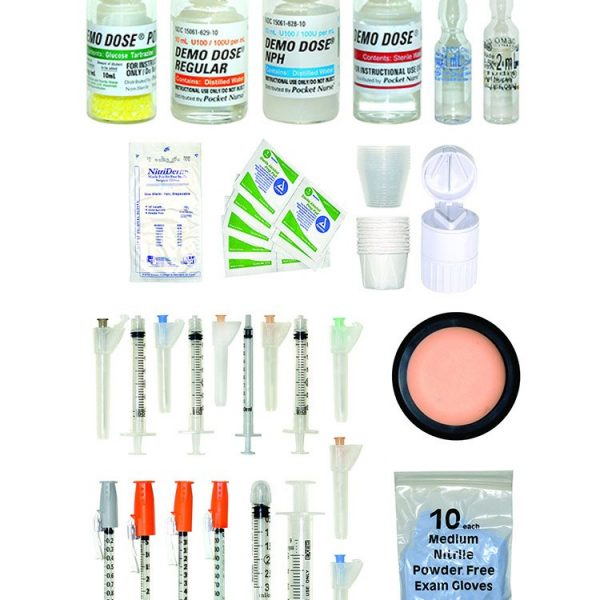 PRE-DESIGNED MEDICATION ADMINISTRATION KIT