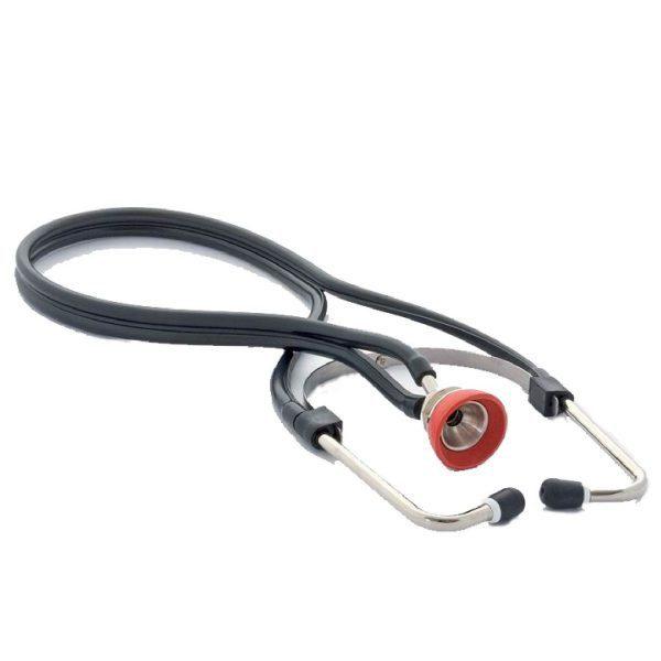 Suprabell stethoscope for veterinarians black