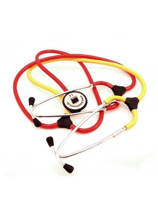 "Training stethoscope for nurses ""Plano"" red"