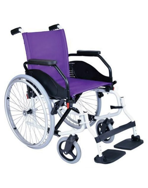 LATINA 40 Manual Aluminum Wheelchairs (600MM SPOKES SOLID / 200MM SOLID)